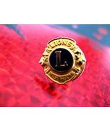 LIONS CLUB INTERNATIONAL Collector Souvenir Lapel Pin - $6.99