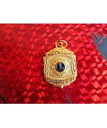 LIONS CLUB CHAIRMAN CHARM not Souvenir Lapel Pin - $7.99