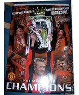 MANCHESTER UNITED David Beckham official Poster  - $7.99