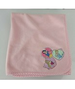Disney Princess Pink Fleece Baby Toddler Blanket 3 Three Heart Snow Whit... - $69.29