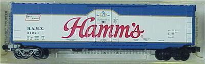 Micro Trains 38230 Hamm 50' Boxcar 31221