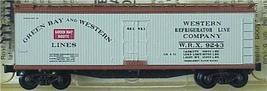 Micro Trains Kadee 49310 GBW 40' Reefer 9243 - $25.75