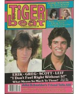 ORIGINAL Vintage Apr 1980 Tiger Beat Magazine Kiss Barry Manilow Leif Ga... - $29.69