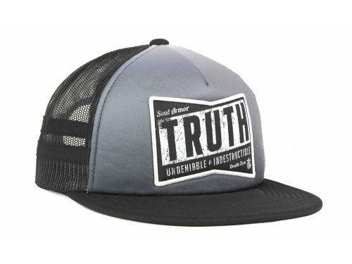 TRUTH INDESRUCTIBLE MESHBACK SNAPBACK TRUCKER CAP/HAT- OSFM