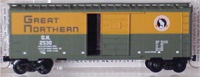 Micro Trains 20226 Great Northern 40' Boxcar GN 2530