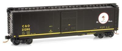 Micro Trains 03100071 C&O Cameo 50' Boxcar 21290
