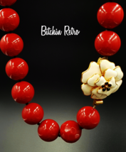 Stella and Dot Necklace, Statement  Floral - $49.00