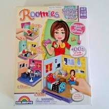 NIB Colorific Roomies Alex Gadget Girl Bedroom Pack Set Interactive Pape... - $14.03