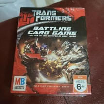 Transformers Battling Card Game by Milton Bradley NEW Factory Sealed  - $4.99