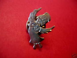 CHRISTMAS Guardian ANGEL Lapel Pin Hat Pin Collector Souvenir Vintage  - $2.99