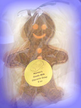 Gingerbread man Glycerin Soap - $5.00