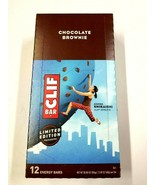 Clif Bar Chocolate Brownie Protein Bars - 12 Count 2.4 oz  Best By 01/23... - $13.85