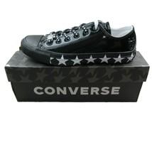 Converse X Miley Cyrus Chuck Taylor All Star Low Black White 563720C Wom... - $59.95