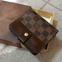Louis Vuitton damier wallet - japan - $296.01
