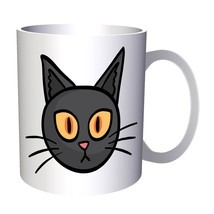 Halloween Art Cat 11oz Mug q742 - ₹779.50 INR
