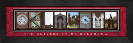 University of Oklahoma Officially Licensed Framed Campus Letter Art - $39.95