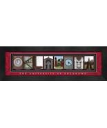 University of Oklahoma Officially Licensed Framed Campus Letter Art - $39.95
