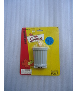 Bart Simpson Wind Up Toy Figure The Simpsons Wind Up Basic Fun Bart 2002 - $13.00