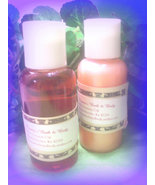 Pumpkin  pie bath gel and lotion set - $8.00