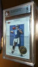 2001 Fleer Mike McMahon #134 Detroit Lions Beckett BGS Grading 9 Rookie - $15.00