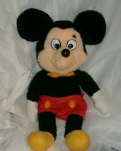 "16 "" Vintage Mickey Mouse Poupée Knickerbocker Disney Peluche Animal Jouet Grand - $20.84"