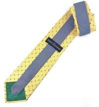 480dca60 New Tommy Hilfiger Silk Tie Yellow & Blue Silk Men's Neck