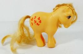 My Little Pony G1 Butterscotch Concave Feet 1982 Hasbro Vintage Butterflies - $18.99