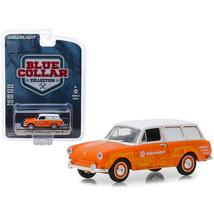 1966 Volkswagen Type 3 Panel Van Volkswagen Sales and Service Orange wit... - $14.51