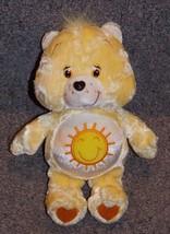 2004 Care Bears Funshine Bear Stuffed Toy 8 inches Tall - $19.99