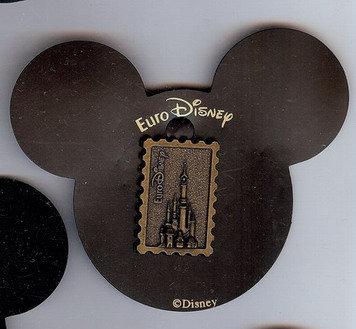 Disney Bronze Castle Stamp Like rare Pin/Pins