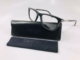 New Calvin Klein Collection CK8517 007 Matte Black Eyeglasses 53mm with Case - $68.31
