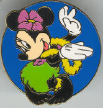 Disney Hula Minnie never sold CM Lanyard only pin/pins - $21.15