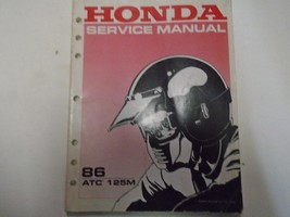 1986 HONDA  ATC125M Service Shop Repair Manual Used OEM Book *** - $29.29