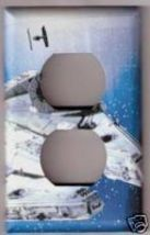 Outlet Light Switch Plate Cover of Star Wars Ship - $6.75