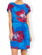 MONSOON Pippa Silk Front Printed Dress BNWT - $96.31