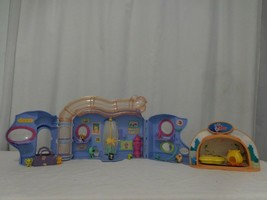 Littlest Pet Shop LPS Lovin Playhouse Play Set + Easter Bunny Rabbits Littlest P - $17.84