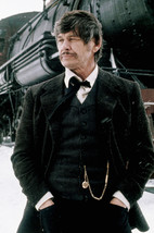Charles Bronson in Breakheart Pass By Vintage Steam Train in Snow 18x24 Poster - $23.99