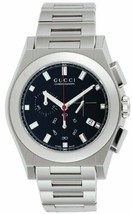 Gucci YA115235 Men's Watch Quartz Pantheon Black Dial Date Chronograph F... - $1,047.39