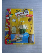 Hans Moleman 2001 Simpsons TV Series 7 Interactive Action Figure MOC New... - $17.99