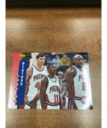 1993/1994 Upper Deck Basketball Part 1 Main Set Card #217 Detroit Pistons - $10.99