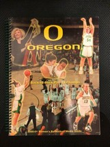 2000-01 Oregon Ducks Women's Basketball Media Guide Jenny Mowe Shaquala ... - $12.99