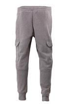 Men's Casual Fleece Sweatpants Sport Gym Workout Fitness Cargo Jogger Pants image 9