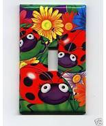 Single Light Switch Plate Cover Lady Bugs - $6.75