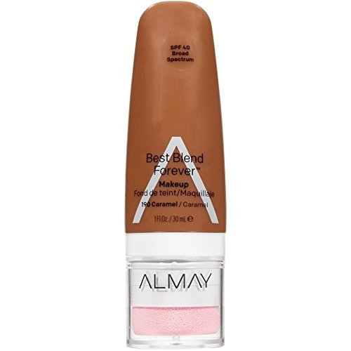 Almay Best Blend Forever Foundation, Caramel, 1 fl. oz., SPF 40 Broad Spectrum - $6.20