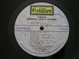Emerson Lake & Palmer ELP Tarkus Cotillion SD 9900 Stereo Vinyl LP Record Album image 6