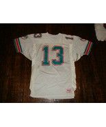 Vintage Miami Dolphins Dan Marino Wilson Authentic Pro Cut NFL Jersey 46 - $247.49