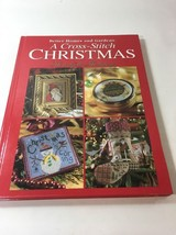 "Better Homes & Gardens ""A Cross-Stitch Christmas"" 128 page book, 1999 L2 - $14.99"