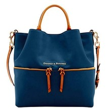 Dooney & Bourke City Large Dawson Shoulder Bag Midnight Blue