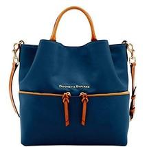 Dooney & Bourke City Large Dawson Shoulder Bag Midnight Blue