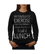 Favourite Exercise Jumper Funny Women Sweatshirt - $18.99